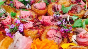 Delivered Party Canapes
